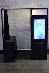 fotoautomat / fotobås / photobooth för företagsfest