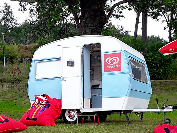 photobooth caravan husvagn med fotoautomat