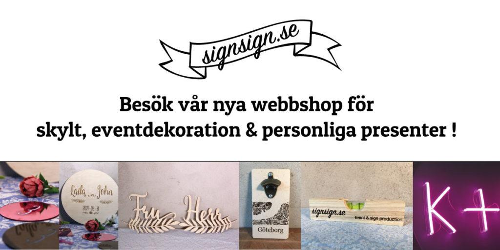 link till signsign.se, personliga presenter & skylt dekoration